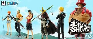☀ One Piece Dramatic Showcase 1st Luffy Zoro Nami Sanji Usopp Banpresto Figure ☀