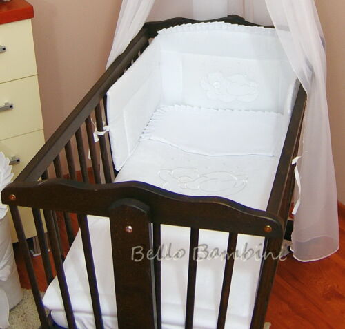 5 pcs bedding set //Duvet Duvet Cover//Pillow to fit baby swinging crib//cradle