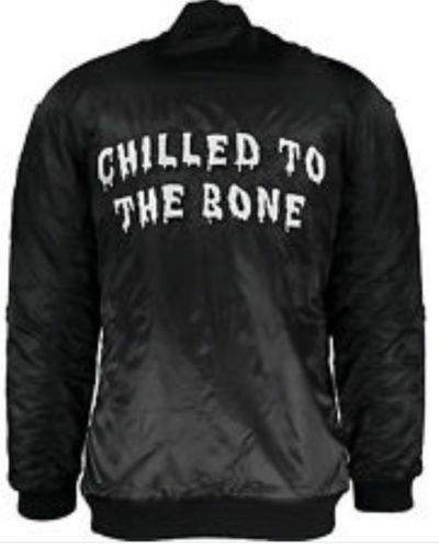 Chilled Jacket The To Zoe Karssen Bone Bomber xwY7qx8C5