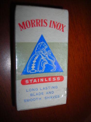 Costruttivo Lamette Morris Inox Confezione Nuova 3 Pz Mp2