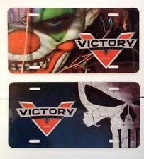Victory Motorcycle License Plate