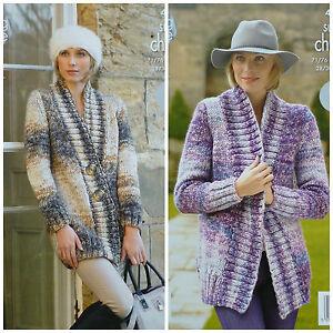 Easy Long Knit Sleeve Pattern Edge2edge Jacket Knitting Ladies Super f6gb7y