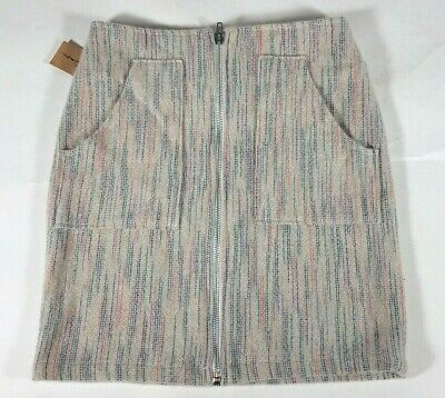 Size Xs Elder Statesman Gray Pink Striped Cashmere Mini Skirt 2 Refreshing And Beneficial To The Eyes