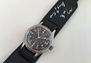VINTAGE-HAMILTON-GS-MILITARY-STYLE-MARK-KNOPFLER-BRAVEHEARTS-CHARITY-AUCTION-5