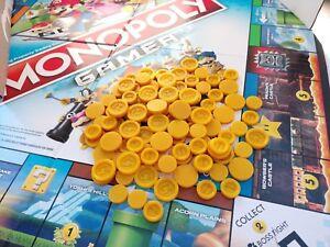 Monopolio Gamer Monedas De Juego De Mesa Paquete De 2 Lote 200