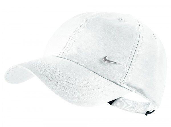 c28b13c6a016b Nike Niños gorra Béisbol metal Swoosh regulable de sombrero blanco ...