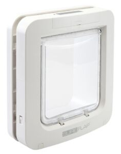 SureFlap Microchip Pet Door White - Large Cats, Small Dogs, Genuine