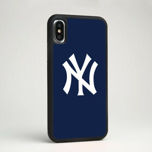 online retailer d55de a4726 MLB New York Yankees Baseball Team Logo Silicone Case Cover for ...