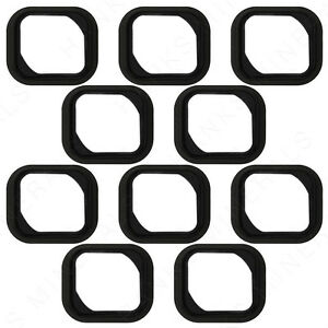 10x-iPhone-5S-Home-Button-Rubber-Gasket-Adhesive-Sticker-Holder-Replacement