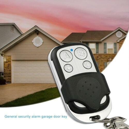 433MHz Wireless 4Keys Copy Cloning Remote Control Duplicator Garage Door Key 1pc