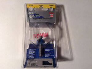 """Irwin 520100 Carbide 1/4"""" Cove Router Bit"""