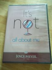 Joyce Meyer IT'S NOT ALL ABOUT ME Escaping Snare of Self Centeredness DVD NEW