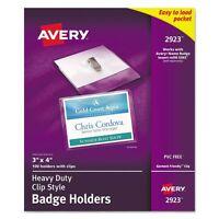 Avery Photo Id Badge Holders - Ave2923