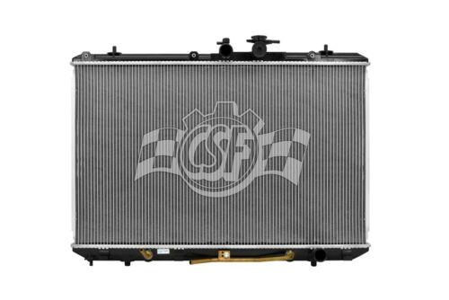 Radiator-1 Row Plastic Tank Aluminum Core CSF 3375 fits 08-13 Toyota Highlander