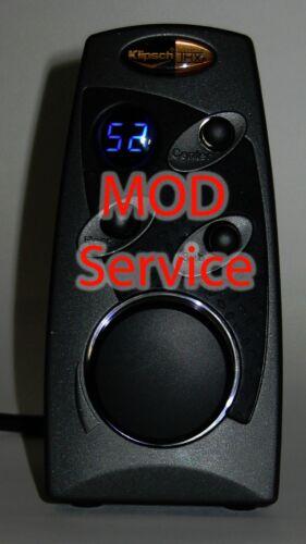 Klipsch ProMedia 5.1 Ultra and 5.1 THX Control POD Color Modding-Service