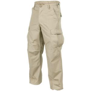 Bdu-Genuino-Ejercito-Carga-Hombres-Combate-Militar-Pantalones-Beige-Helikon-Caqu