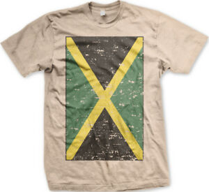 d1de1bc7f Image is loading Jamaica-Faded-Flag-Jamaican-Country-Pride-Born-From-