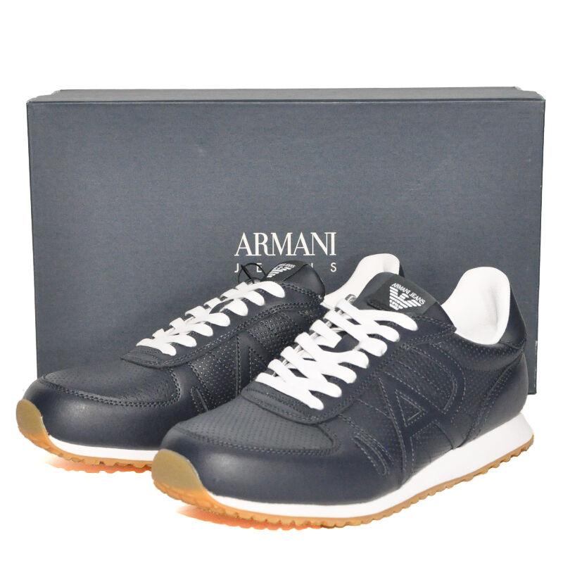 01d419ff278 Armani Jeans Zapatos Cuero cortos lujo PVP - sneacker otcobz3763 ...