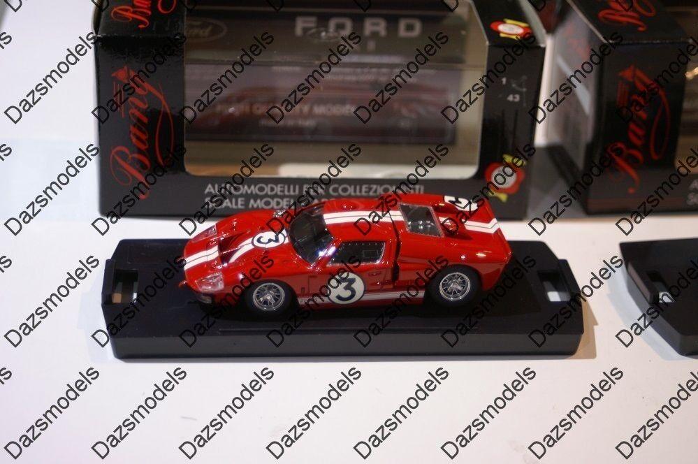 Bang Ford Mk2 Le Mans 1966 Red 7082 1 43