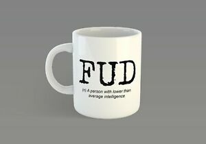 Details about Scottish Slang Mug - Fud (Scotland, cup, tea, coffee, saying,  dialect)