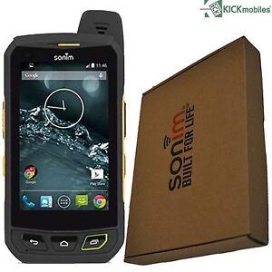 NEW-SONIM-XP7-XP7700-16GB-BLACK-YELLOW-RUGGED-IP68-FACTORY-UNLOCKED-TOUGH-4G-GSM