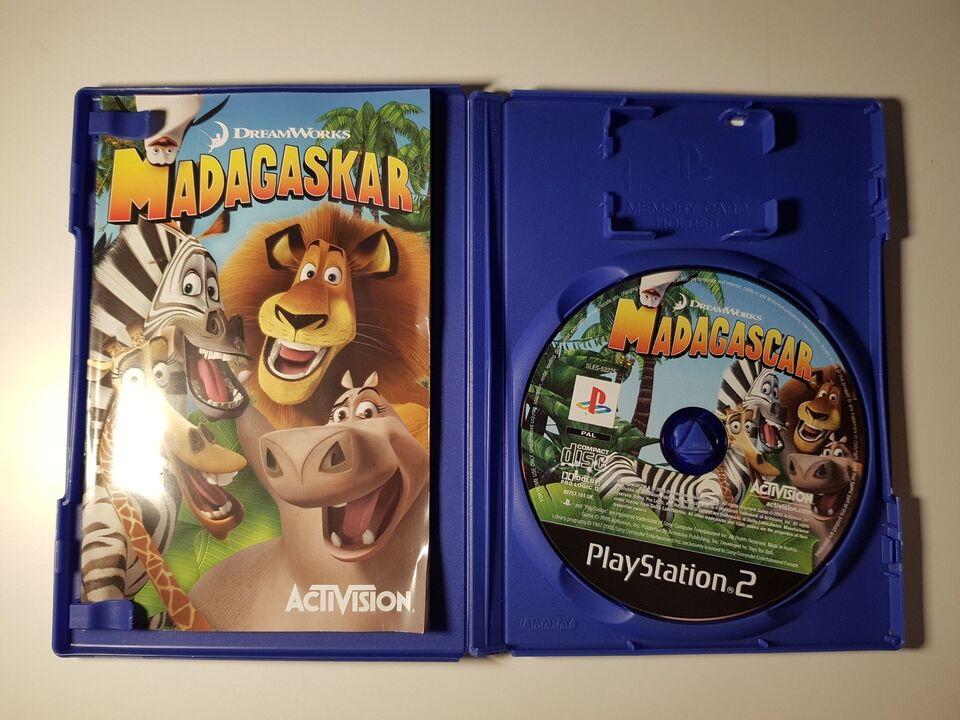 Madagascar, PS2