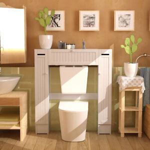 WC Toilette Schrank Überbauschrank Badezimmerregal ...
