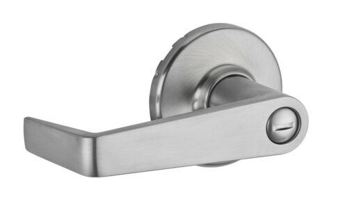 Kwikset 733KNL Chrome Kingston Grade 2 Privacy Door Lever Set