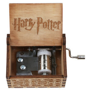 Vintage-Handmade-Engraved-Wooden-Harry-Potter-Music-Box-Christmas-Craft-Gift