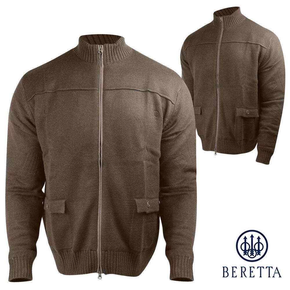 Beretta (M)- Sportsman Full-Zip Sweater (M)- Beretta Braun c83732