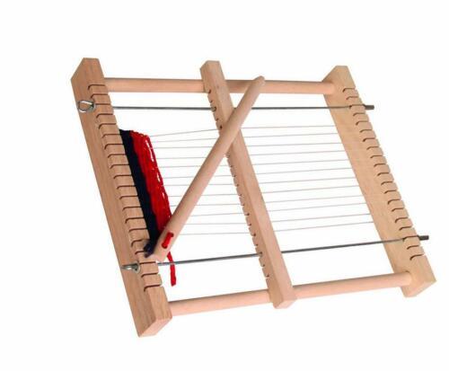 Größe Vorschul-Webrahmen ca aus Holz 24x18x3,5cm