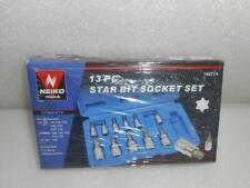 WORKPRO 13-piece Torx Bit Socket Set T8-T60 S2 Steel W003036