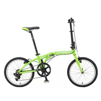 "Sundeal F1 Folding City Urban Travel Bike 20"" Shimano 7 Speed Alloy Storage NEW"