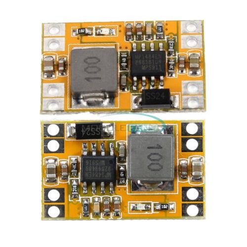 2//5PCS 3A USB Charger Step Down Buck Power Supply Module 9V//12V//19V to 5V 3.3V