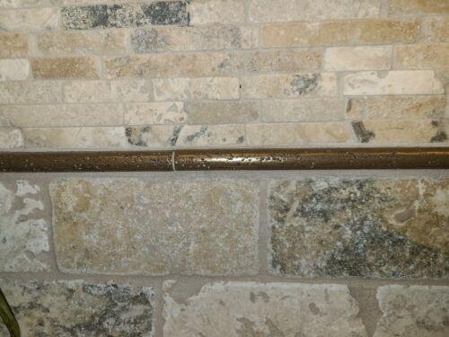 """1//2/"""" x 12/"""" pencil liner tile metallic bronze"""