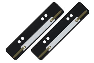 100-St-Aktendulli-Koesterstreifen-Heftstreifen-kurz-3-5x15-cm-DIN-A4-A5-schwarz