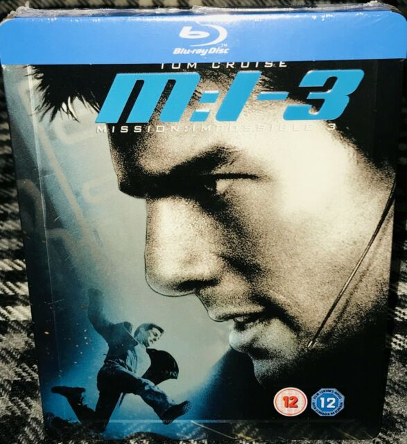 Bluray Mission Impossible 3 Blu Ray Steelbook