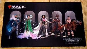 MTG Mythic Championship// Pro Tour Cleveland 2019 Ravnica Playmat *Rare*
