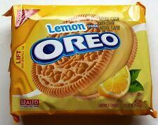 NEW Nabisco Oreo Lemon Flavor Creme Cookies FREE WORLDWIDE SHIPPING