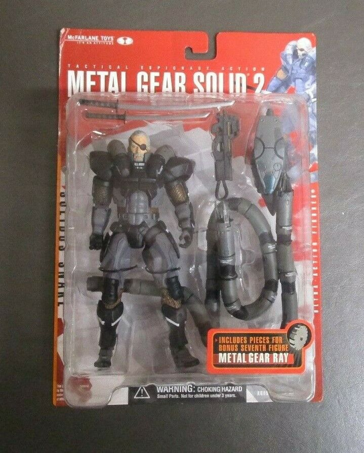 Solidus Snake Sons of Liberty MCFARLANE TOYS Metal Metal