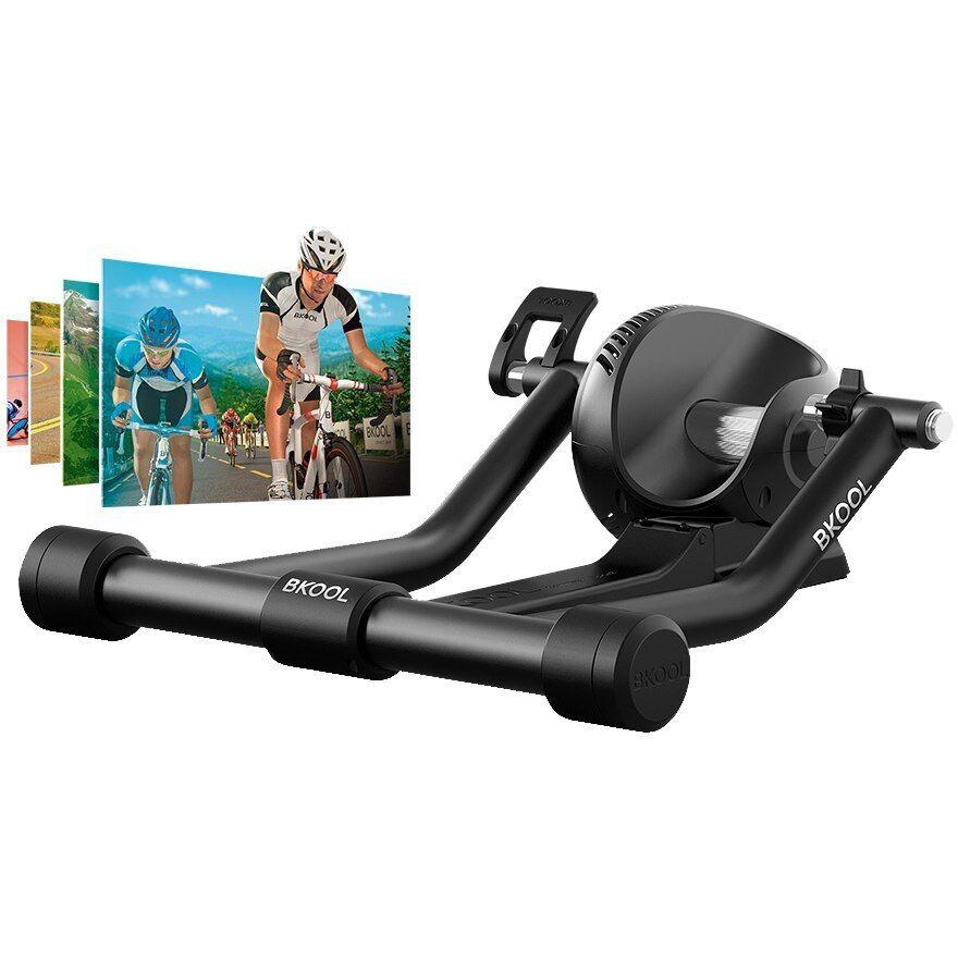 BKool Pro entrenador de ciclismo (compatible con Simulador de software) Negro
