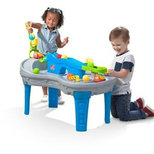 Details About Step2 Ball Buddies Truckin Rollin Play Table Kids Ball Play Table