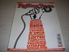 ROLLING STONE n° 20 JUIL 2004 PATTI SMITH BONO U2 ZEBDA CURE RAY CHARLES N'DOUR