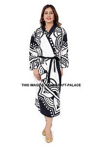 Handmade Indian Details Sleepwear Boho About Fatima Night Hamsa Robe Bathrobe Gown Cotton f7ymYIb6vg