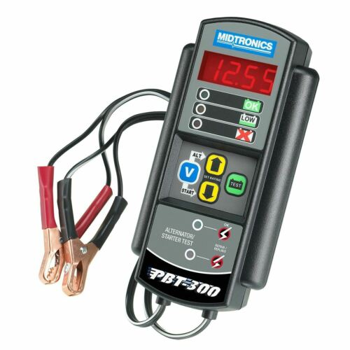 Midtronics Battery Conductance Tester 100-1400CCA, Shows Available CCA, PBT300