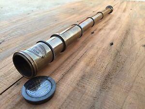 Vintage-Nautical-Telescope-Brass-Pirate-Spyglass-Scope-Collectible-Marine-Scope