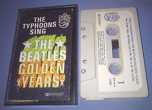 THE-TYPHOONS-SING-THE-BEATLES-GOLDEN-YEARS-cassette-tape-album-T6263