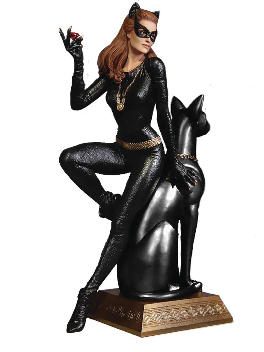 1/6 Scale Batman 1966 TV Series Catwoman Ruby Version Diorama Statue