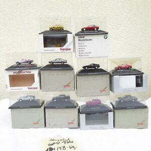 Herpa-la-raccolta-1-87-h0-10-pezzi-tra-l-039-altro-BENZ-MB-modelli-pubblicitari-in-scatola-originale