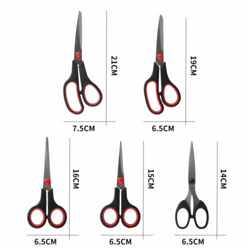 Stainless Scissors Set Dressmaking Pinking Shears Office Scissors Multipurpose